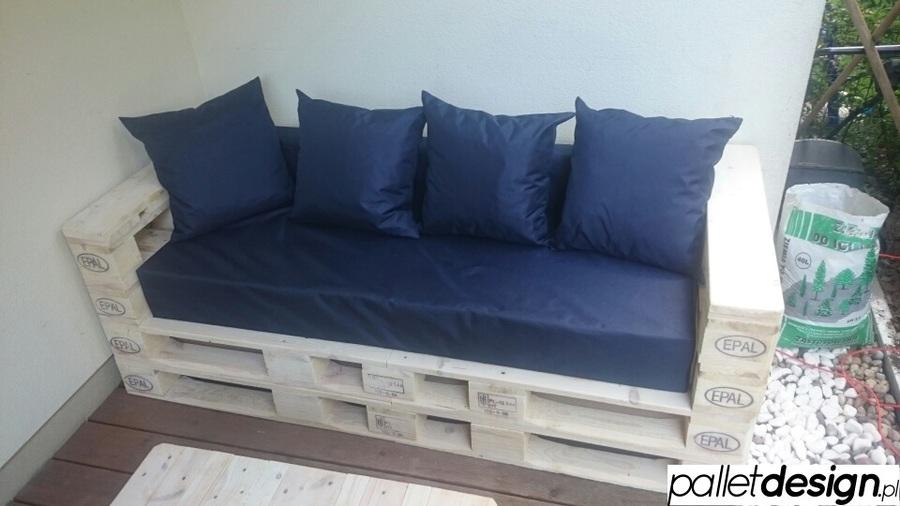 Sofa 4 osobowa z palet